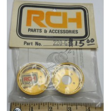 RCH No. 220G Gold Rear Rims Rough Rider
