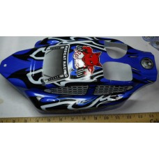 Red Cat Racing No. 0001 Backdraft 3.5 Nitro 1-8 Scale Buggy Painted Lexan Body with Decals