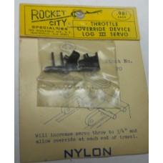 Rocket City No. 0020 Throttle Override Device LOG 3 Servo