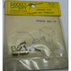 Rocket City No. 0079 Stand Off 4-40 Thread