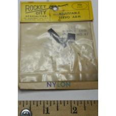 Rocket City No. 0047 Servo Arm Adjustable for World Engine