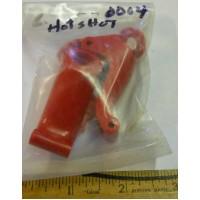Tamiya Hot Shot No. 0004 Red Rear Arms Pair