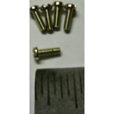 Tamiya Universal No. 0049 3mm X 20 Silver Screw Set of Five