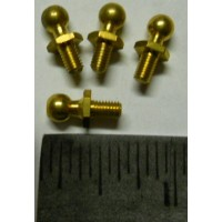 Tamiya Universal No. 0066 Brass Steering Post Small Set of Five