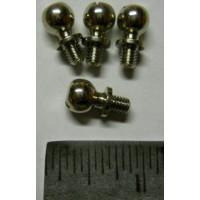 Tamiya Universal No. 0067 Balljoint Silver Large Set of Five