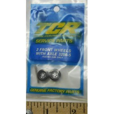 TCR No. 3256-5 Two Front Wheels with Axle