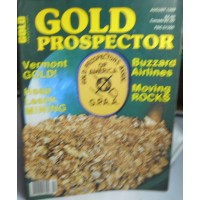 Treasure A Misc. No. 0123 Gold Prospector August 1988