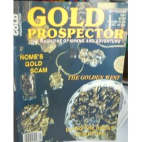 Treasure A Misc. No. 0131 Gold Prospector September 1991