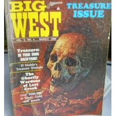 Treasure A Misc. No. 0001 Big West Vol. 2 No. 4 March 1969
