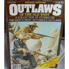 Treasure A Misc. No. 0006 Western Frontier Outlaws November 1982