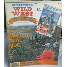 Treasure A Misc. No. 0015 Old Timers Wild West Annual 1979