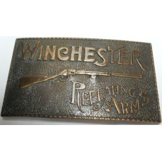 Buckle No. 0004 Winchester Repeating Arms Brass