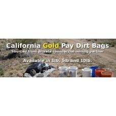 JHAC California Gold Pay Dirt Bags