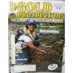Treasure A Misc. No. 0168 Gold Prospector March/April 2006